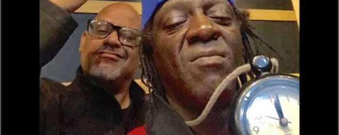 Clint 'Payback' Sands and Flavor Flav of Public Enemy