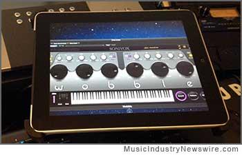 WOBBLE control on iPad