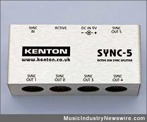 SYNC-5 Active DIN Sync Splitter