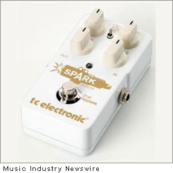 TC Spark Booster Guitar Pedal