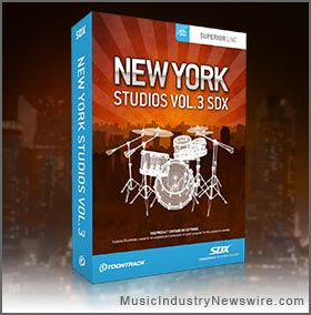 New York Studios Vol.3 SDX for Superior Drummer