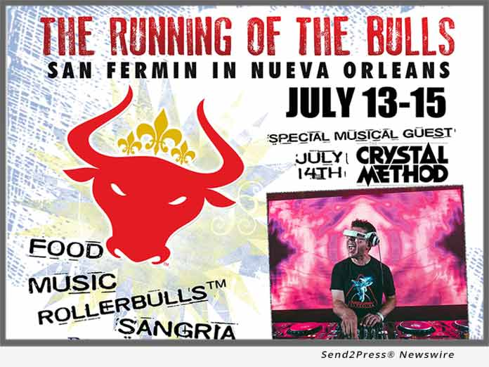 New Orleans with The Crystal Method