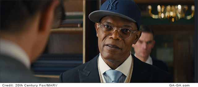 Sam Jackson as Valentine