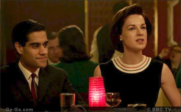 Jessica Raine and Sacha Dhawan