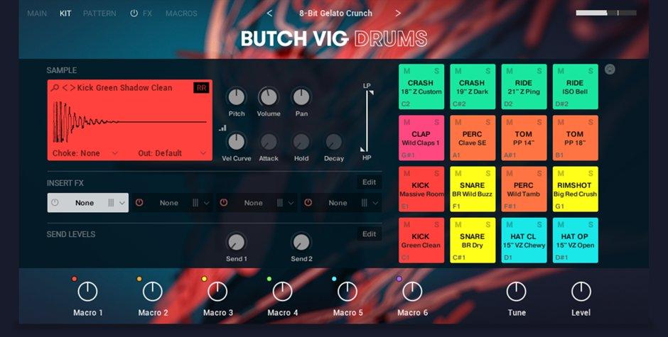 Butch Vig Drums