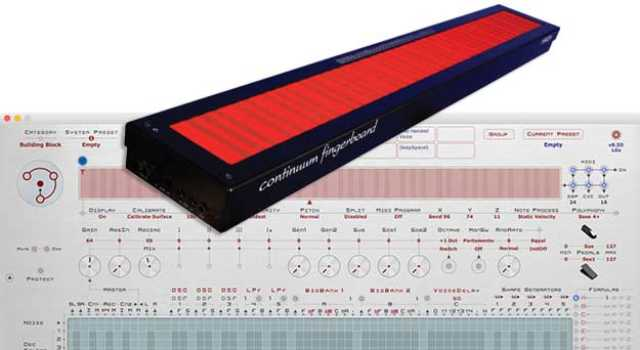 Continuum Fingerboard Version 8.50