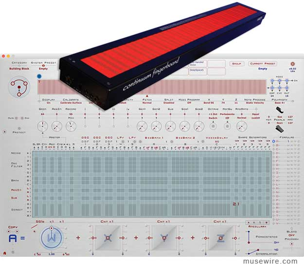 Continuum Fingerboard 8.5 released with New System Presets and ...