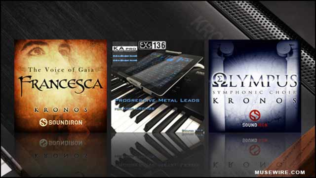 KORG announces Soundiron vocal libraries for Kronos 2