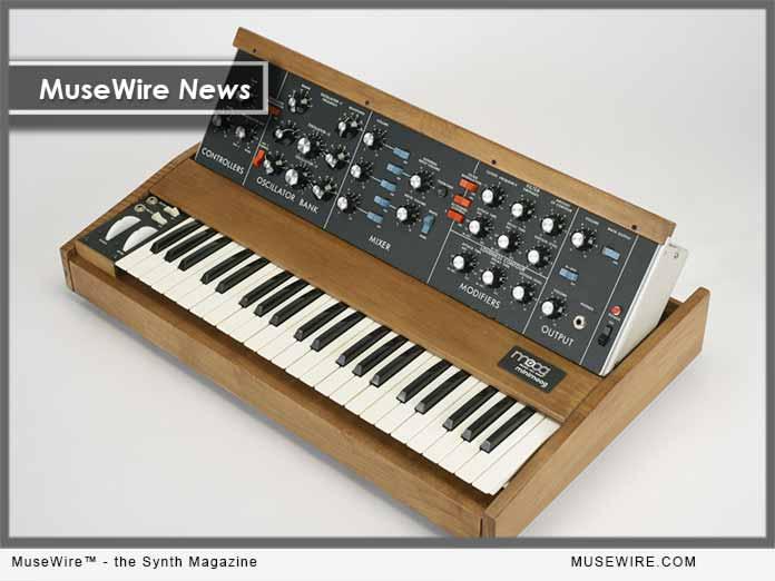 Bob Moog Foundation - Mini Moog raffle