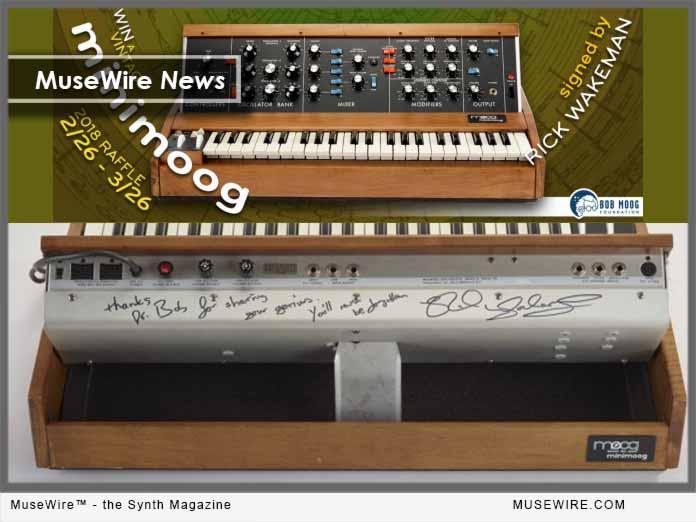 Bob Moog Foundation - Rick Wakeman Moog