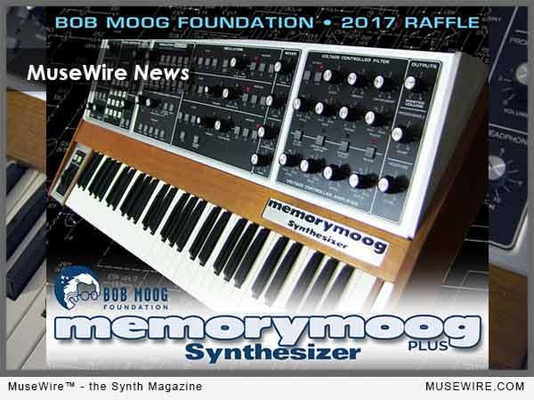 BMF Moog Memorymoog Raffle 2017