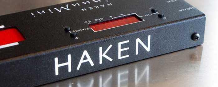 Haken ContinuuMini rear view