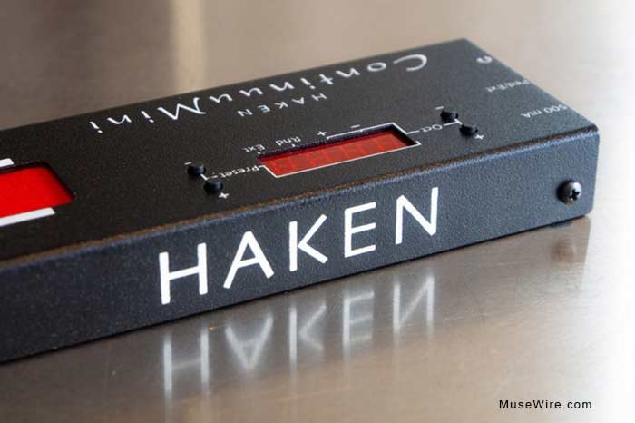 Haken ContinuuMini rear view
