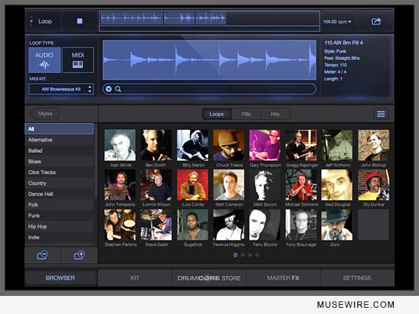 DrumCore 4 Virtual Celebrity Drummer Plugin