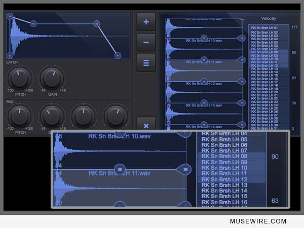 DrumCore 4 Kit Editor