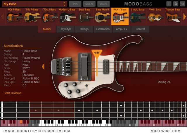 MODO Bass Virtual Instrument