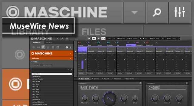 MASCHINE bass synth