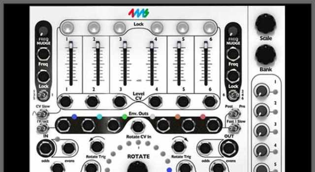 4ms Spectral Multiband Resonator