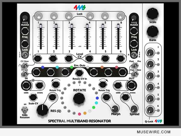 Softube 4ms Spectral Multiband Resonator