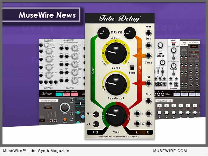 Softube Releases Tube Delay for MODULAR