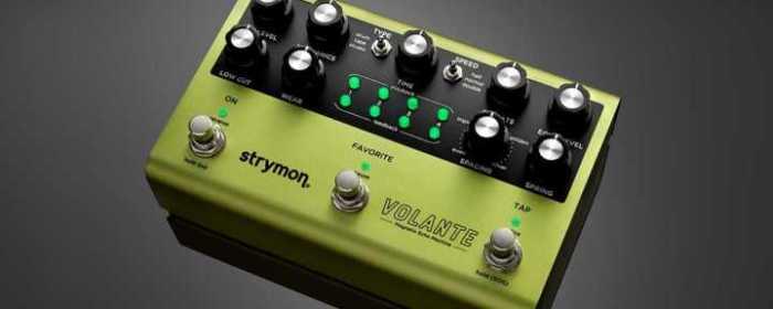 Strymon Volante pedal - top
