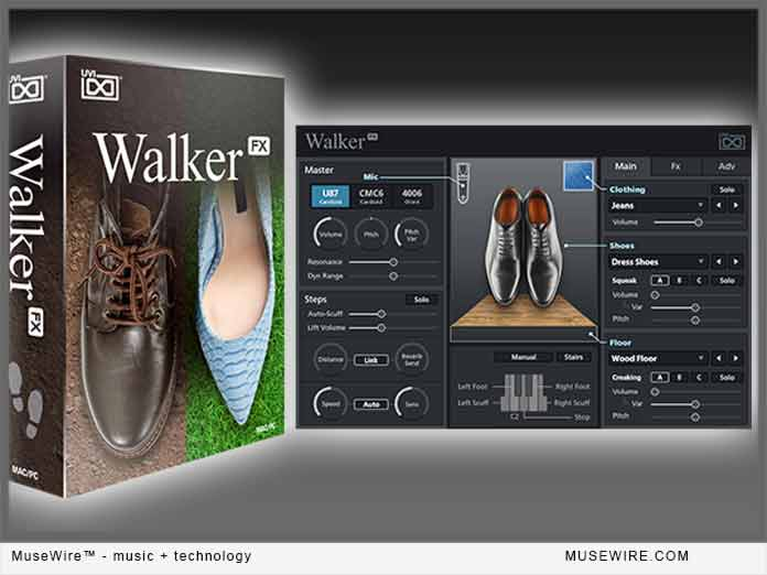 UVI Walker FX Foley Plugin