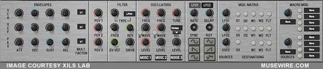 xils Stix oscillators