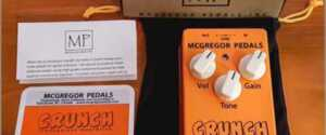 McGregor Pedals Crunch Transparent Overdrive Pedal