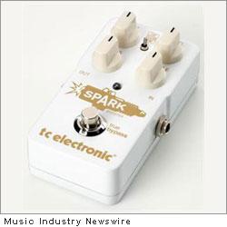 TC Spark Booster Guitar Pedal