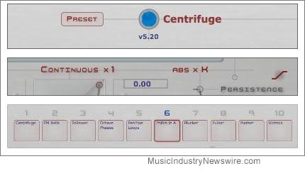 Continuum firmware version 5.20