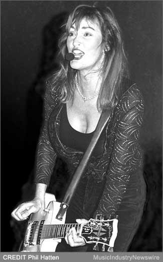 Photo of Nancy Luca by Phil Hatten