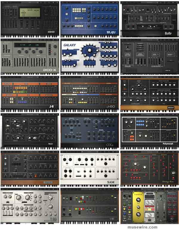 Syntronik synths
