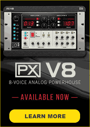 Explore UVI PX V8 Synth