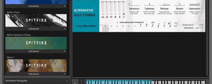 Spitfire Alt Strings for Kontakt