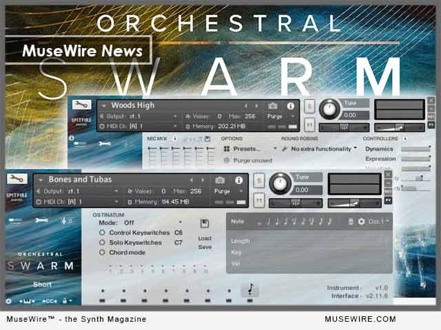 Spitfire Audio ORCHESTRAL SWARM