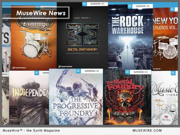 Toontrack EZX Expansions